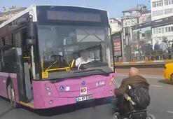 Engelli yolcuyu otobüse almamıştı Flaş gelişme...
