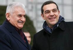 Yıldırım, Yunanistan Başbakanı Çiprası kabul etti