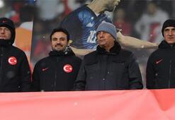 Lucescu, TFF 2. Lig karmaları maçını izledi