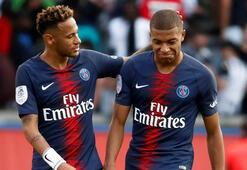 PSGde Neymar ve Mbappe şoku