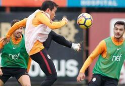 Galatasarayda Serdar, Eren, Ozan ve Nagatomo takımla çalıştı