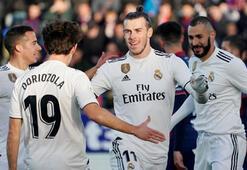 Real Madrid, Huescayı Bale ile geçti