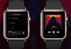 Spotify, Apple Watch uygulama testlerine başladı
