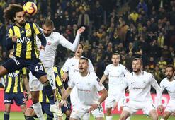 Fenerbahçe-Atiker Konyaspor: 1-1