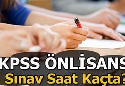 KPSS önlisans sınavı saat kaçta başlayacak KPSS sınav soru ve cevapları...
