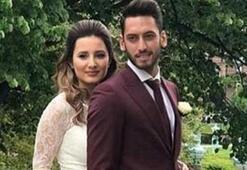 Hakan Çalhanoğlu eşi Sinemle barıştı