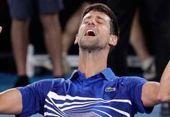 Avustralya Açık'ta şampiyon Novak Djokovic