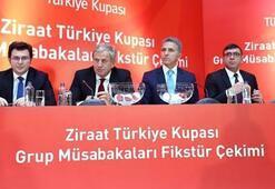 Ziraat Türkiye Kupasınde kura çekimi yarın