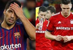 Haftanın kaybedenleri Barça ve Bayern
