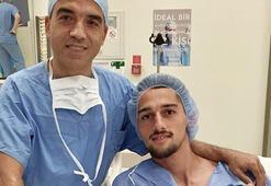 Beşiktaşın genç futbolcusu Alpay Çelebi, ameliyat edildi