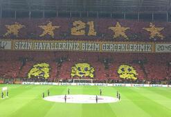 Galatasaraydan tarihi koreografi