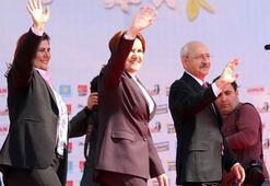 CHP ve İYİ Partiden ortak miting... Kılıçdaroğlu ve Akşener konuştu