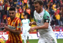 İM Kayserispor-Bursaspor: 1-1