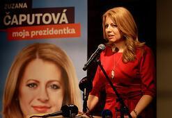 Slovakya'da birinci turun galibi Zuzana Caputov