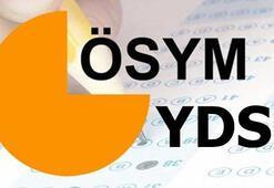 YDS/1 ne zaman gerçekleştirilecek 2019 YDS sınav giriş yerleri açıklandı mı