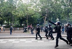 Fransada sarı yeleklilerin gösterisi öncesi 278 gözaltı