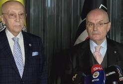 Beşiktaş ile Fenerbahçenin divan başkanları buluştu