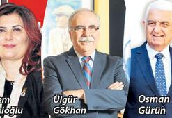 Çerçioğlu, Gürün ve Gökhan tekrar aday