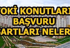 TOKİ konutları başvuru şartları belli oldu TOKİ 50 bin konut başvurusu...