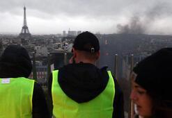 Sarı yeleklilerin gösterileri Fransayı sarstı
