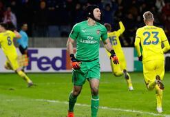 Gecenin sürprizi Arsenal, BATEye yıkıldı