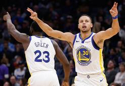 Kings - Warriors maçında 3 sayı rekoru kırıldı