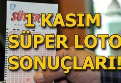 Süper Loto çekilişi sonuçları belli oldu (1 Kasım MPİ Süper Loto sonuçları...