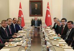 Güvenlik ve Dış Politikalar Kurulu Cumhurbaşkanı Erdoğan başkanlığında toplandı
