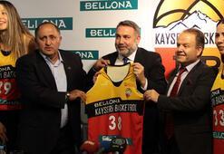 Bellona, Kayseri Basketbola isim sponsoru oldu