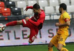 Gazişehir Gaziantep -  Eskişehirspor: 1-1