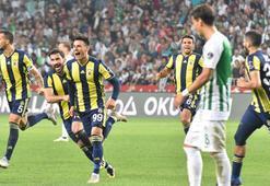 Atiker Konyaspor - Fenerbahçe: 0-1
