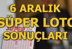 Süper Loto 6 Aralık çekiliş sonuçları açıklandı Süper Lotoda büyük ikramiye