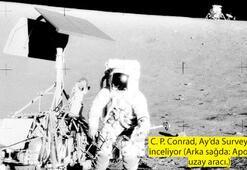SURVEYOR-3: 1967'de Ay'a indirildi, 1969'da orada bulundu