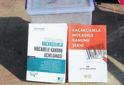 Kaçakçıdan çıkan kitaplar