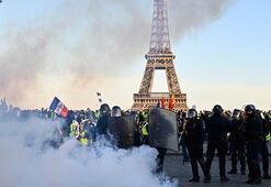 Sarı yeleklilerin gösterilerinde polis şiddetinin bilançosu ortaya çıktı