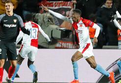 Slavia Prag, Sevillayı 119. dakikada yıktı