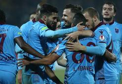 Trabzonsporda çeyrek final sevinci