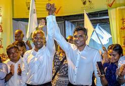 Maldivlerde seçimi muhalefet kazandı