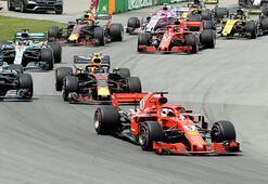Formula 1'de start zamanı