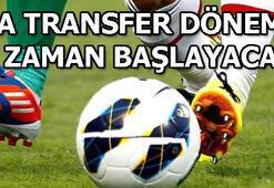 Süper Lig transfer dönemi ne zaman başlayacak Süper Lig ara transfer dönemi