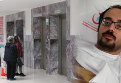 Doktorun asansör talihsizliği