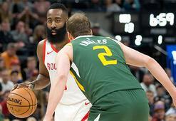 Harden 43 sayı attı, Rockets galibiyete uzandı