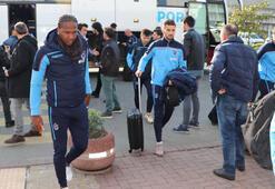 Trabzonspor, Beşiktaş maçı için İstanbul'a geldi