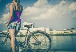 Baride bisiklet kullananlara teşvik