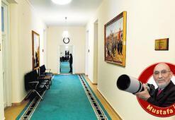 Başkanlar koridorunda Binali Yıldırım