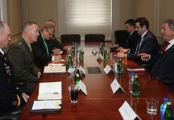 Milli Savunma Bakanı Akar, ABD Genelkurmay Başkanı ile görüştü Uyarılarımızı yaptık...