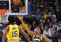 Bucks, Warriorsı dağıttı