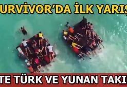 Survivor 2019da ilk ödül oyununu hangi takım kazandı Survivor Türkiye-Yunanistan