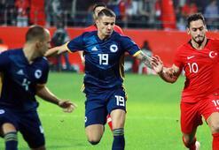 Türkiye - Bosna Hersek: 0-0