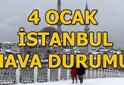 İstanbulda bugün hava nasıl olacak 4 Ocak İstanbul hava durumu
